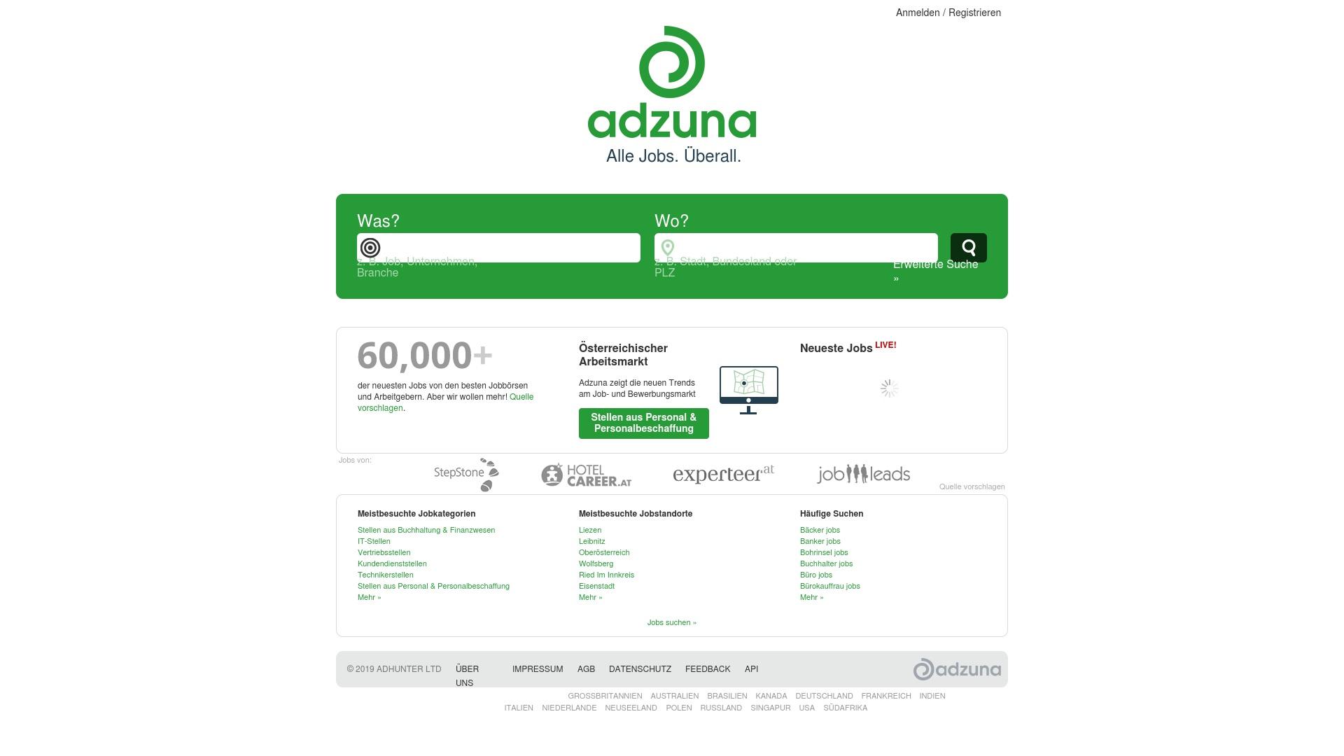 Geld zurück bei Adzuna: Jetzt im Juli 2021 Cashback für Adzuna sichern
