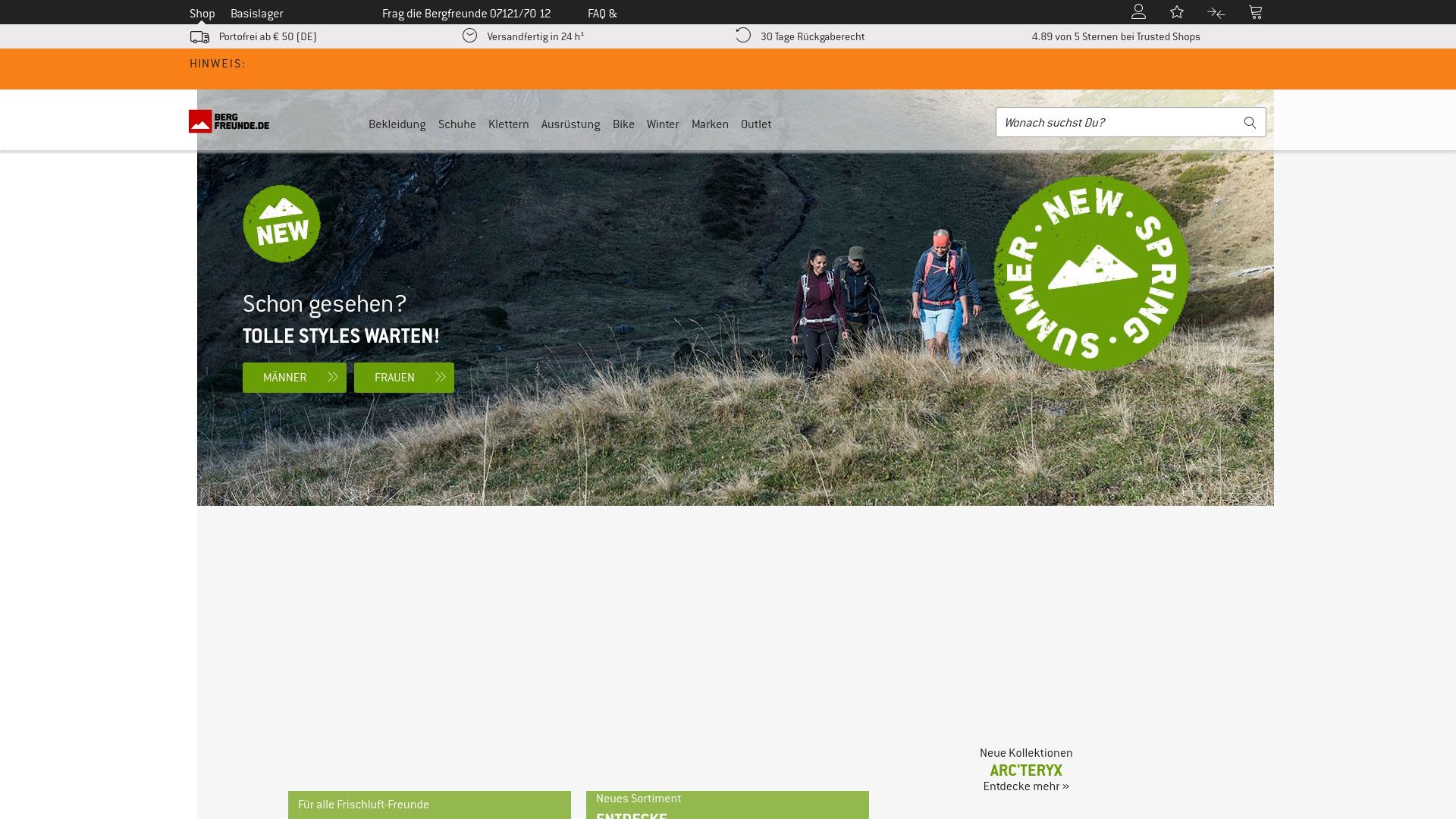 Geld zurück bei Bergfreunde: Jetzt im April 2021 Cashback für Bergfreunde sichern
