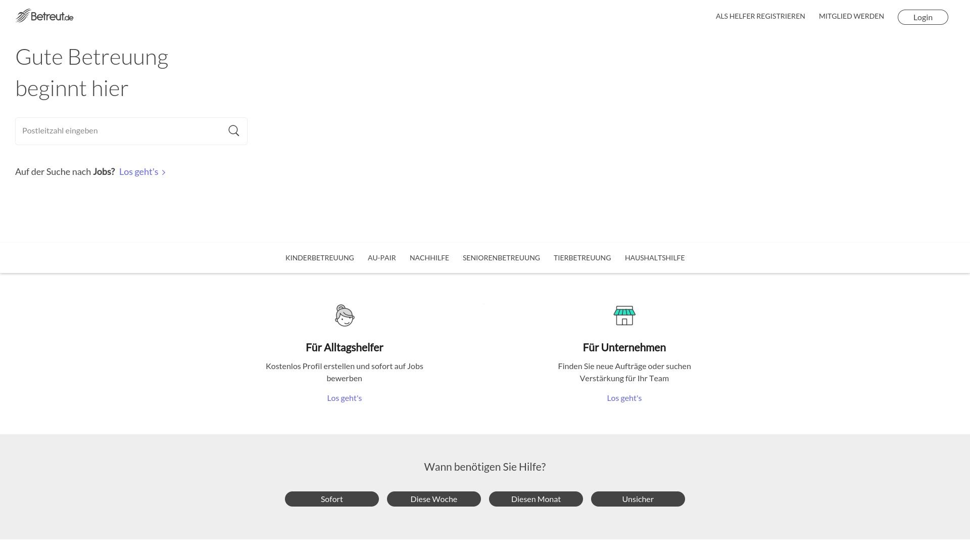 Geld zurück bei Betreut: Jetzt im Oktober 2021 Cashback für Betreut sichern
