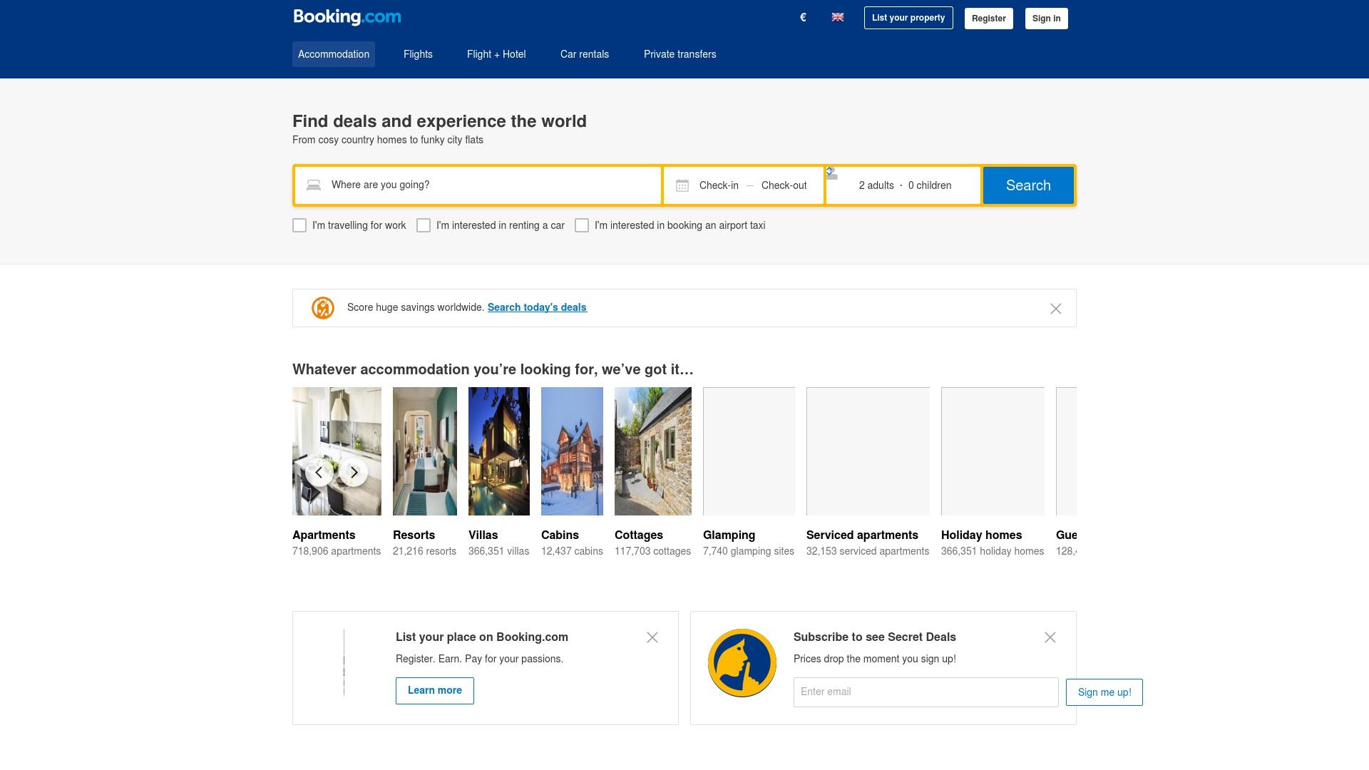 Geld zurück bei Booking: Jetzt im April 2021 Cashback für Booking sichern