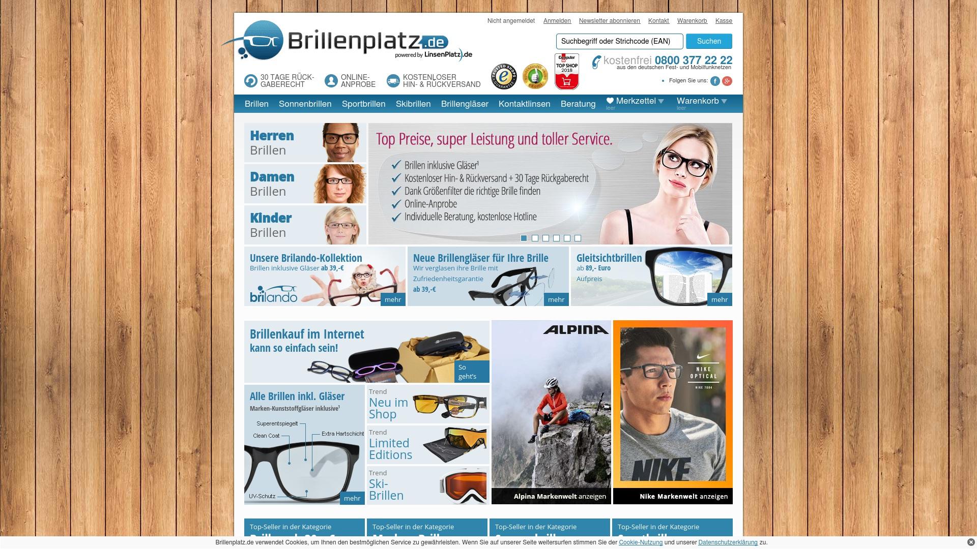 Geld zurück bei Brillenplatz: Jetzt im April 2021 Cashback für Brillenplatz sichern
