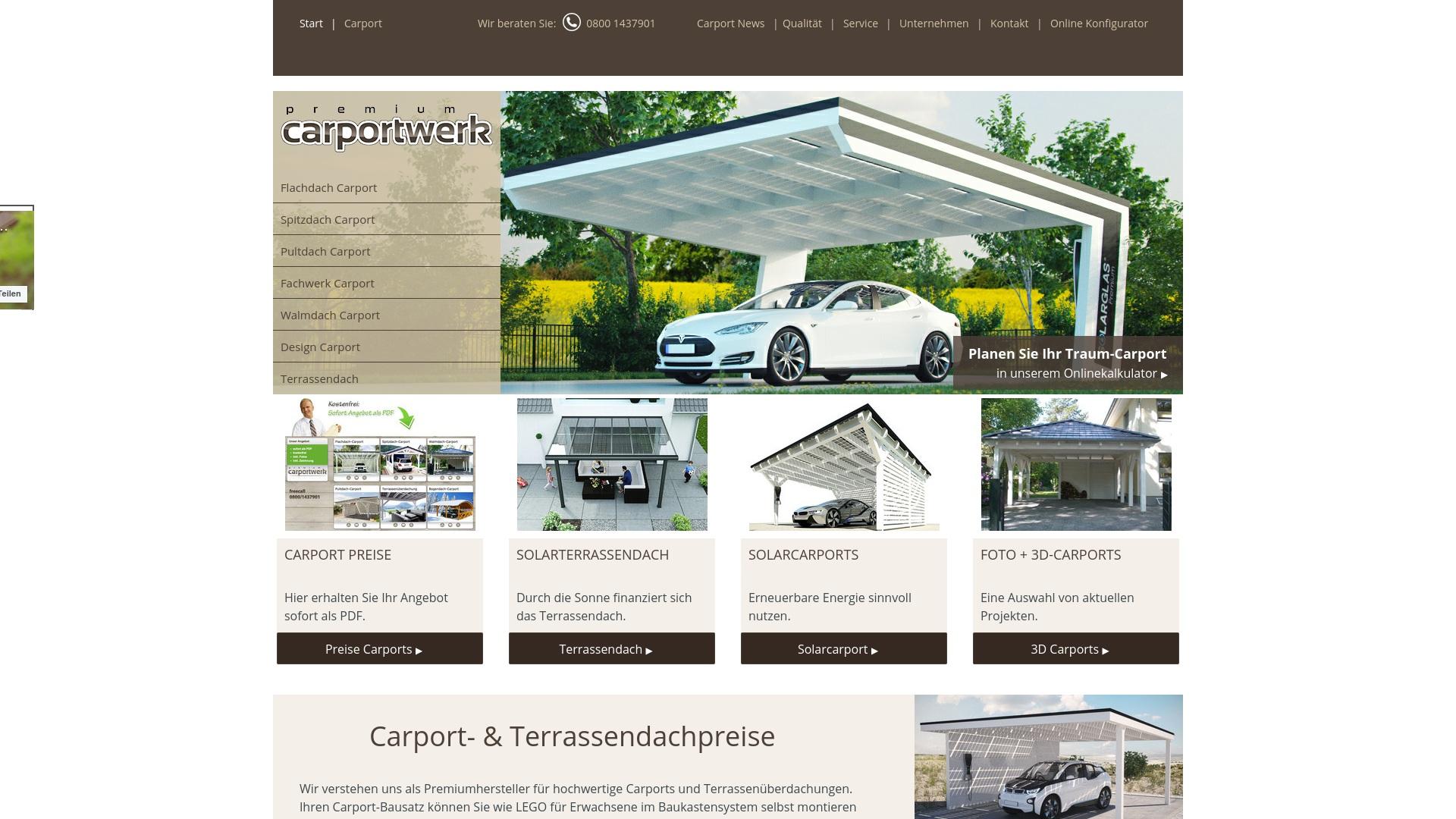 Geld zurück bei Carporte: Jetzt im April 2021 Cashback für Carporte sichern