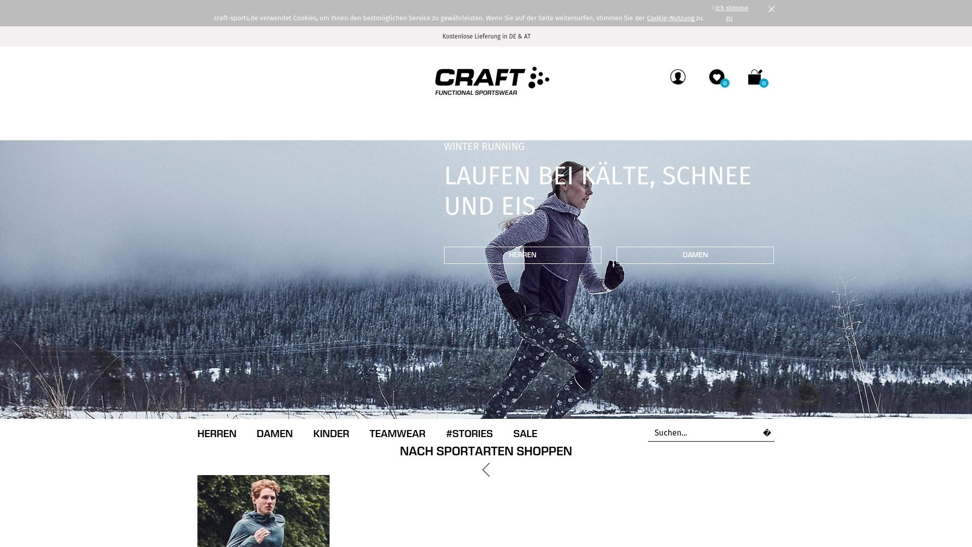 Geld zurück bei Craft-sports: Jetzt im Oktober 2021 Cashback für Craft-sports sichern