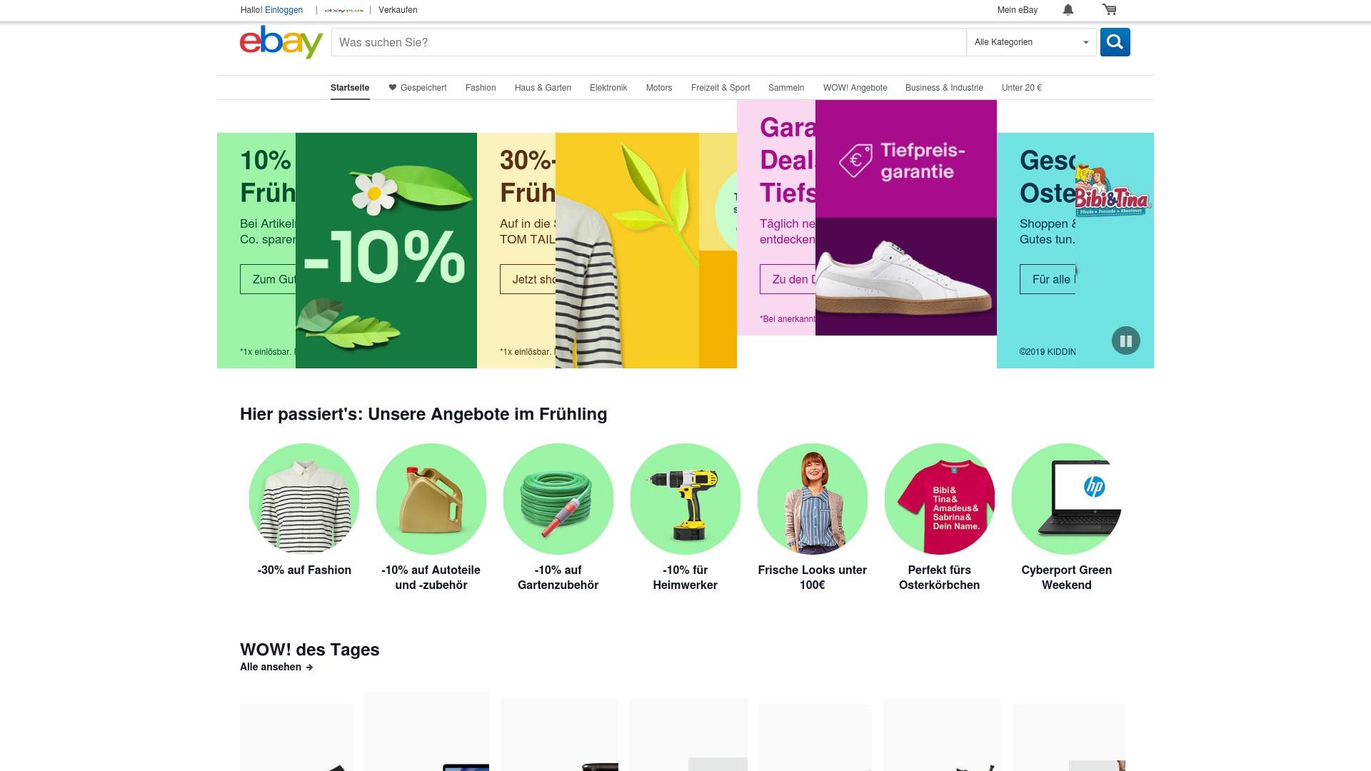 Geld zurück bei Ebay: Jetzt im Juli 2021 Cashback für Ebay sichern