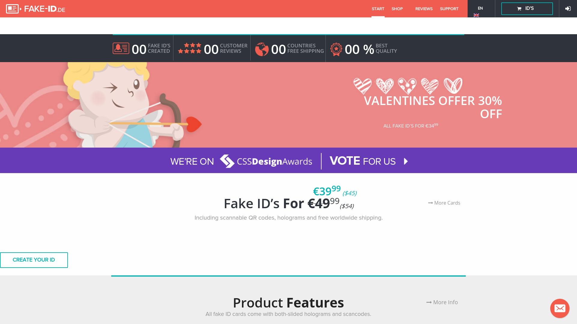 Geld zurück bei Fake-id: Jetzt im April 2021 Cashback für Fake-id sichern