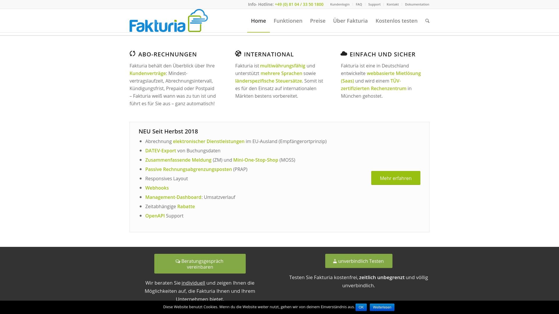 Geld zurück bei Fakturia: Jetzt im April 2021 Cashback für Fakturia sichern