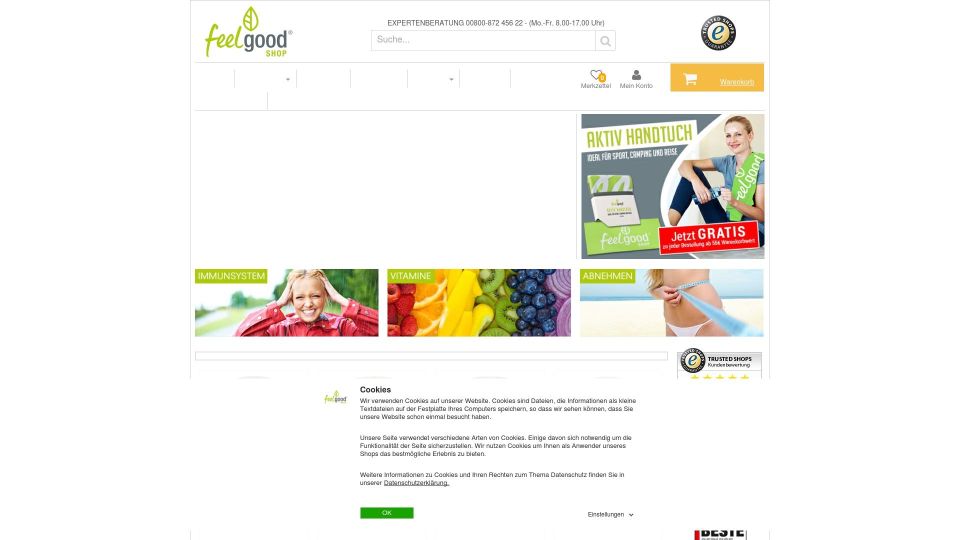 Geld zurück bei Feelgood-shop: Jetzt im Mai 2021 Cashback für Feelgood-shop sichern