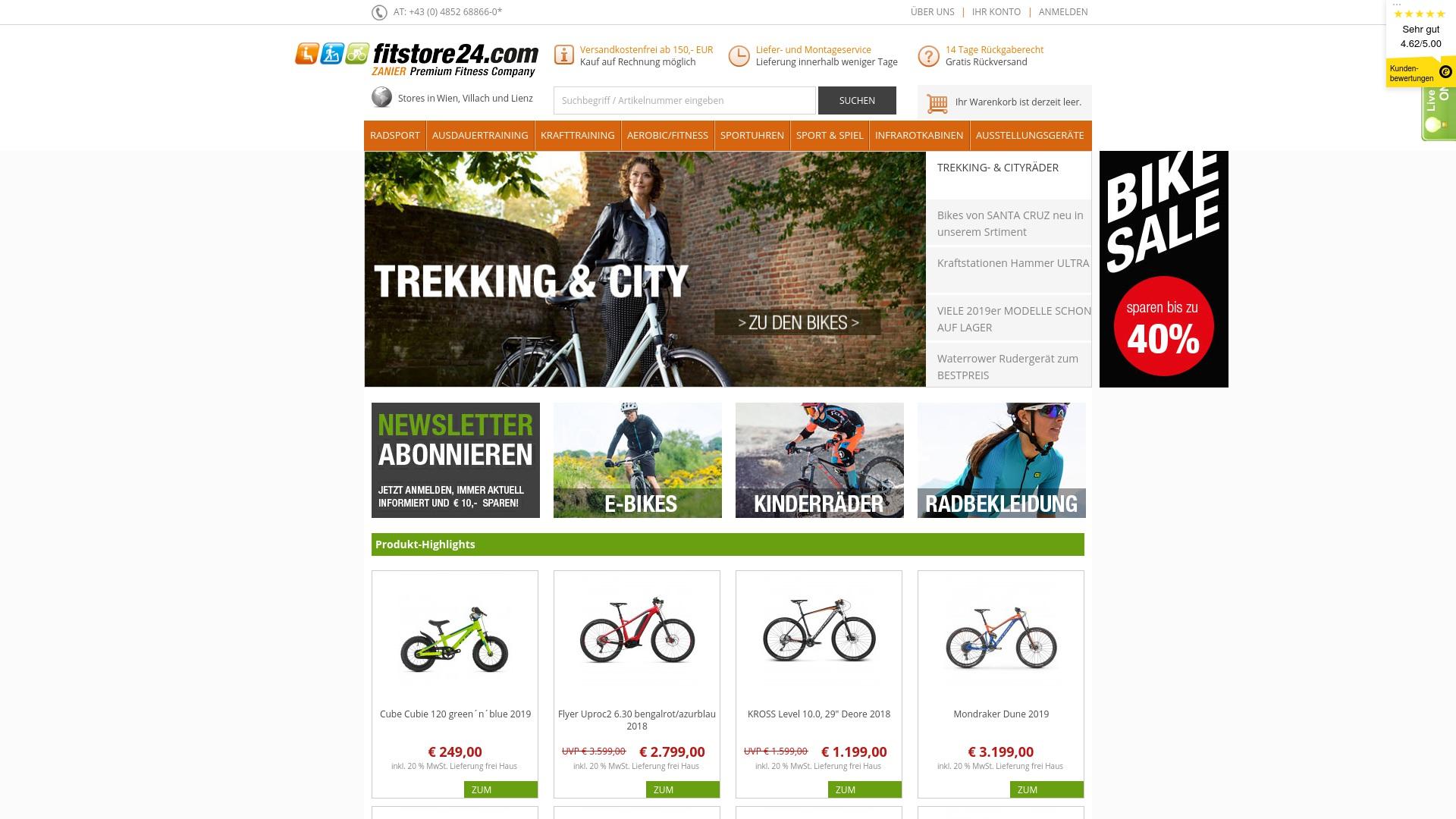 Geld zurück bei Fitstore24: Jetzt im April 2021 Cashback für Fitstore24 sichern