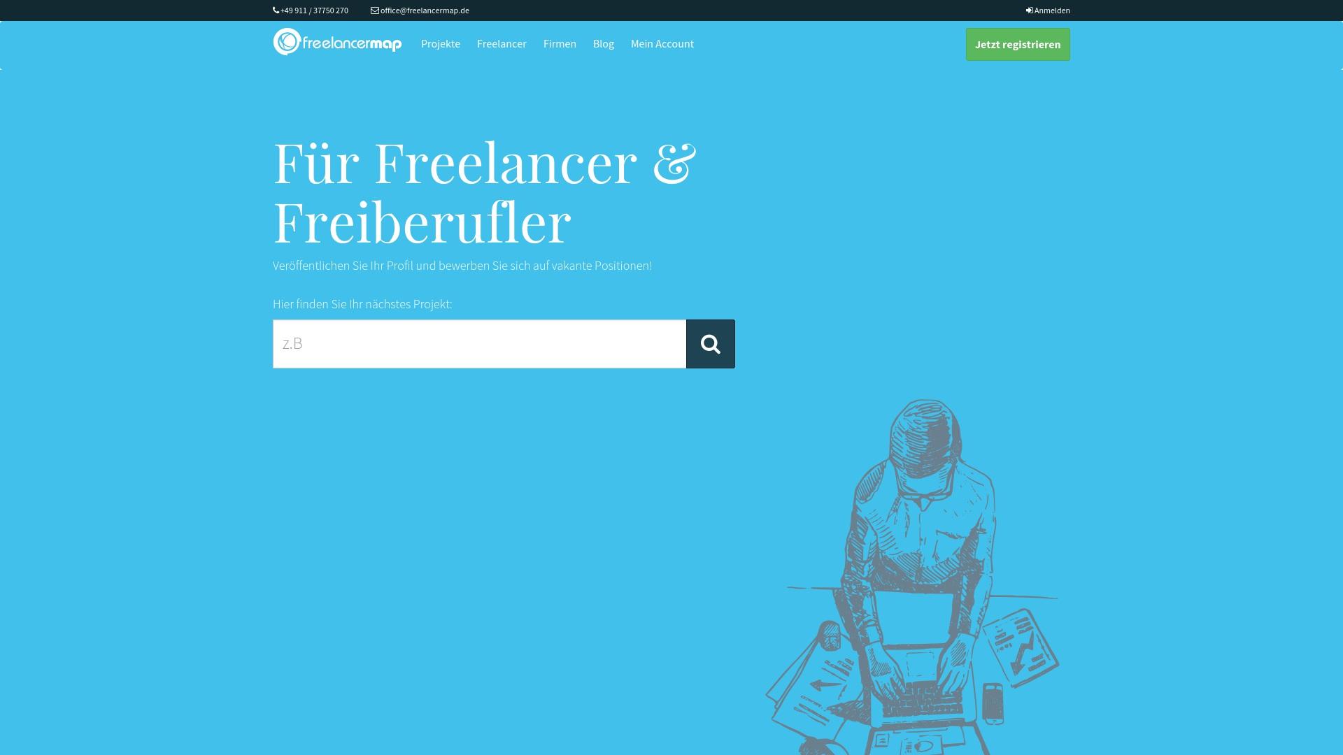 Geld zurück bei Freelancermap: Jetzt im April 2021 Cashback für Freelancermap sichern