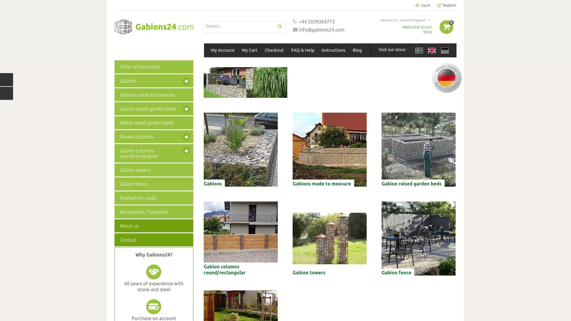 Geld zurück bei Gabions24: Jetzt im Juni 2021 Cashback für Gabions24 sichern