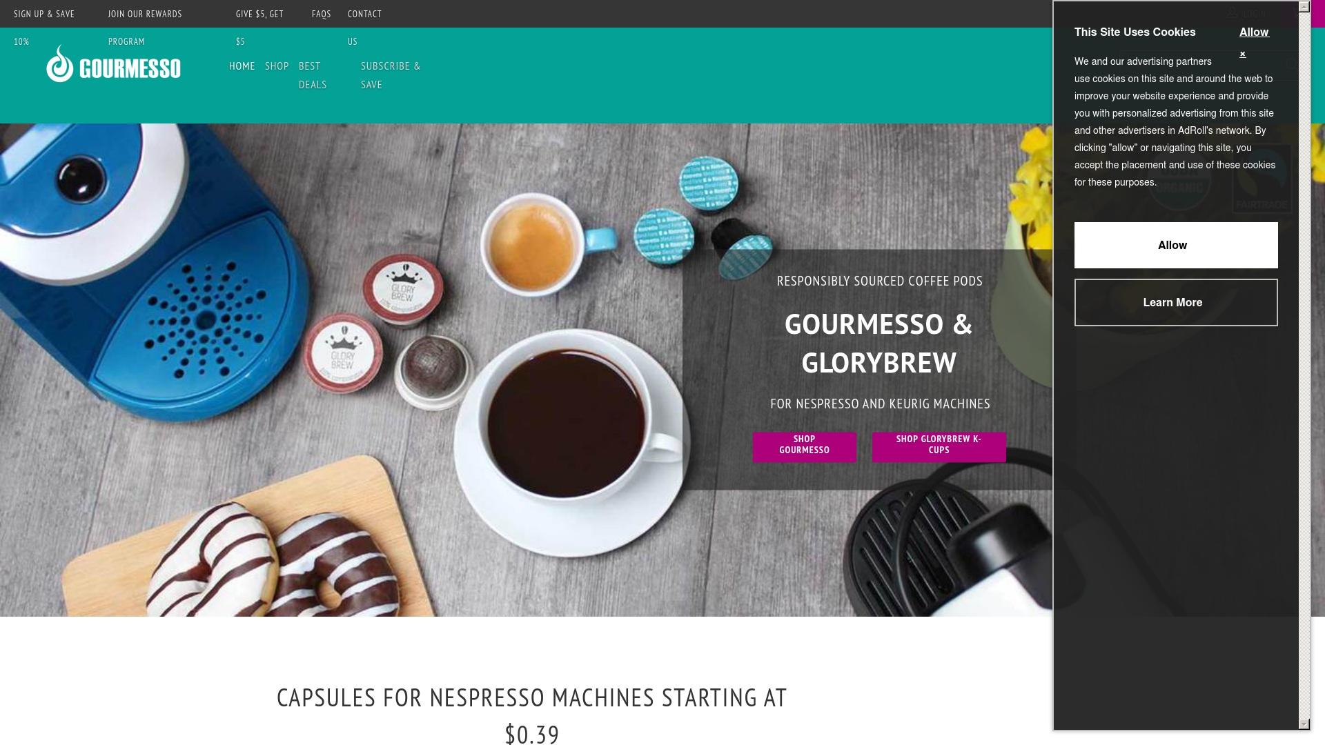 Geld zurück bei Gourmesso: Jetzt im Mai 2021 Cashback für Gourmesso sichern