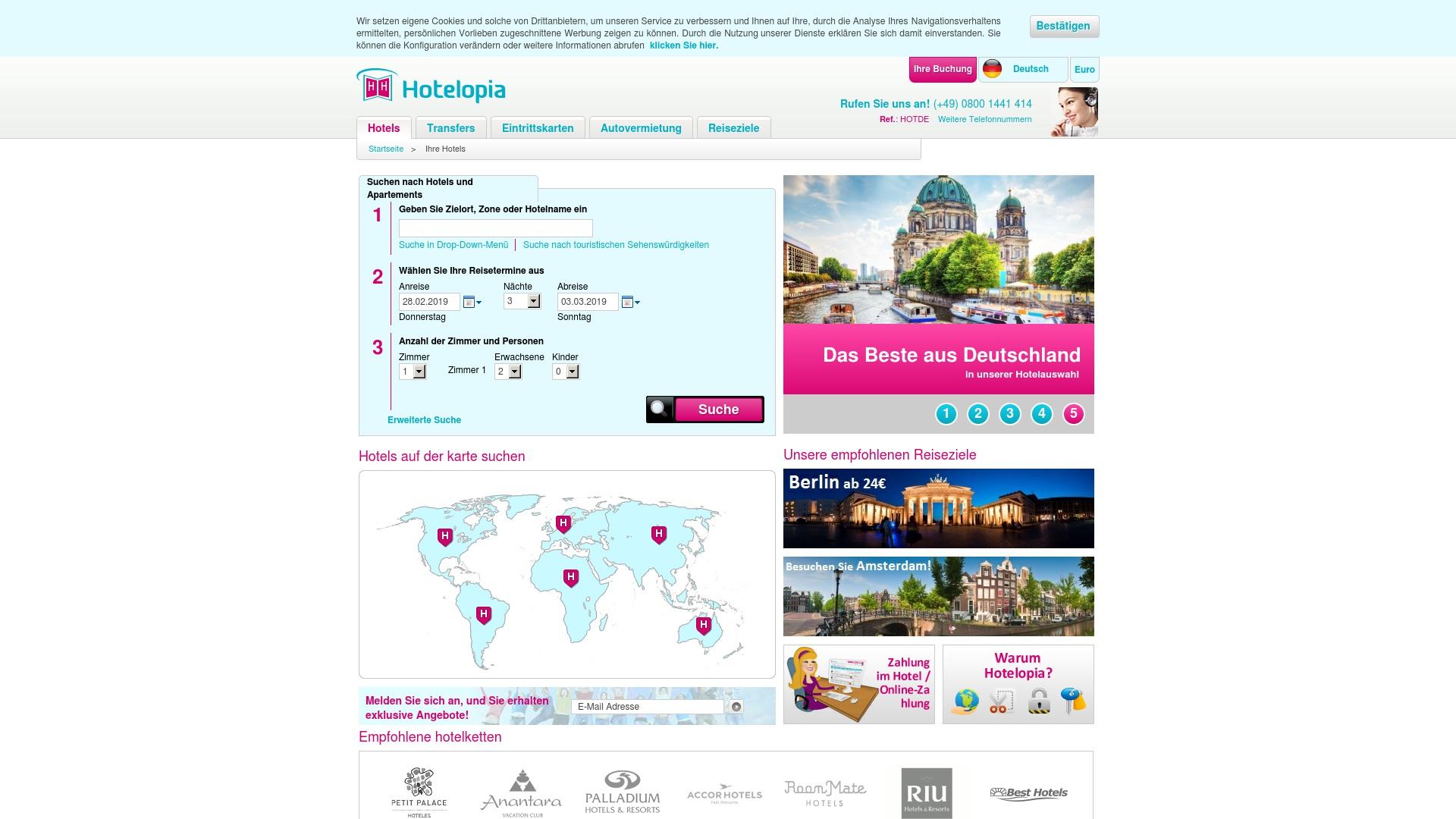 Geld zurück bei Hotelopia: Jetzt im Mai 2021 Cashback für Hotelopia sichern
