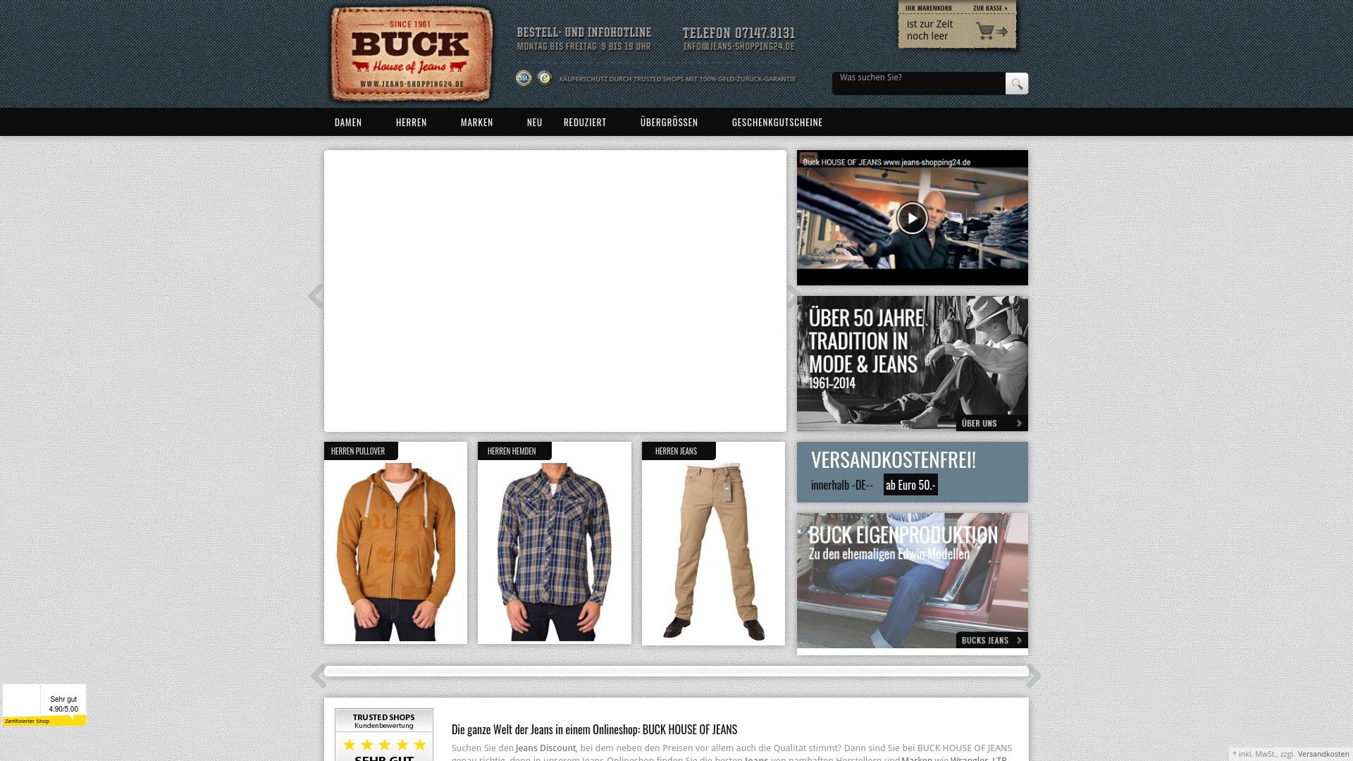 Geld zurück bei Jeans-shopping24: Jetzt im Juli 2021 Cashback für Jeans-shopping24 sichern