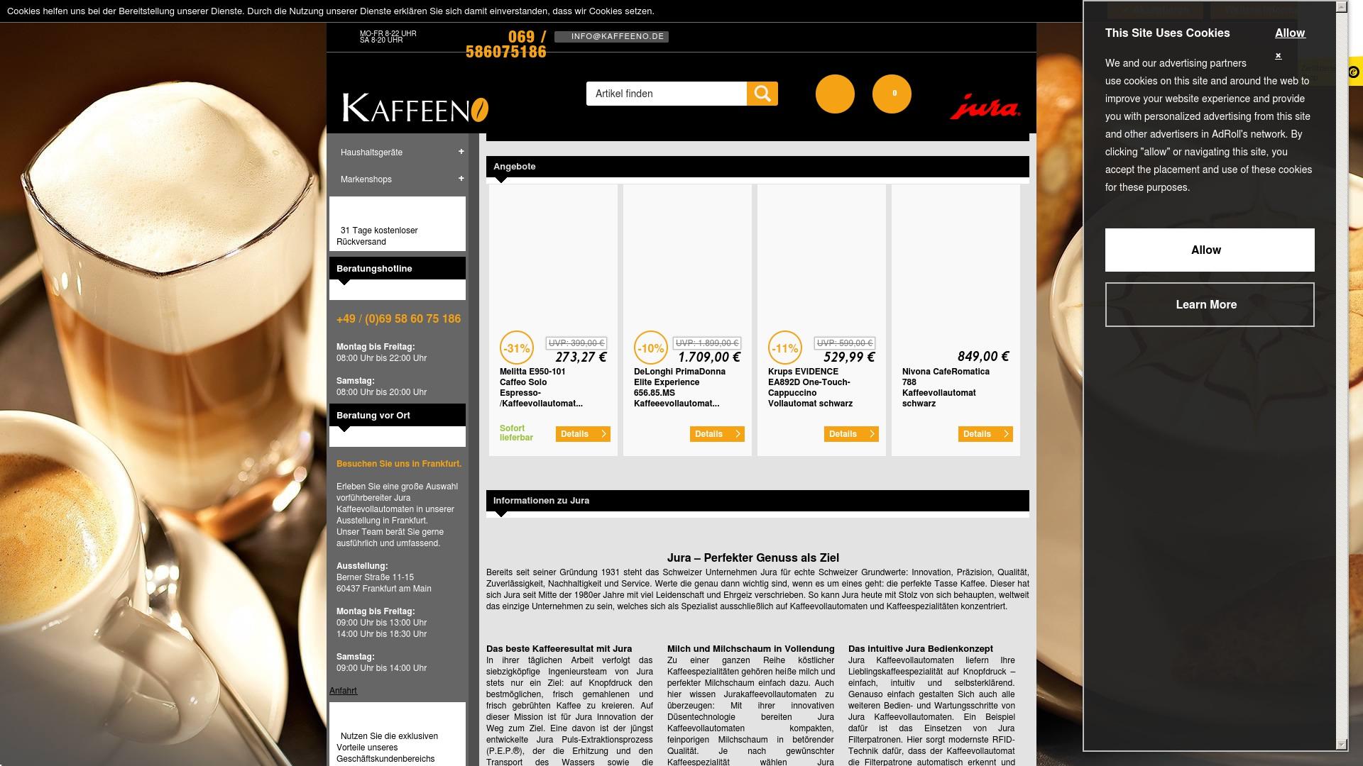 Geld zurück bei Kaffeeno: Jetzt im Oktober 2021 Cashback für Kaffeeno sichern