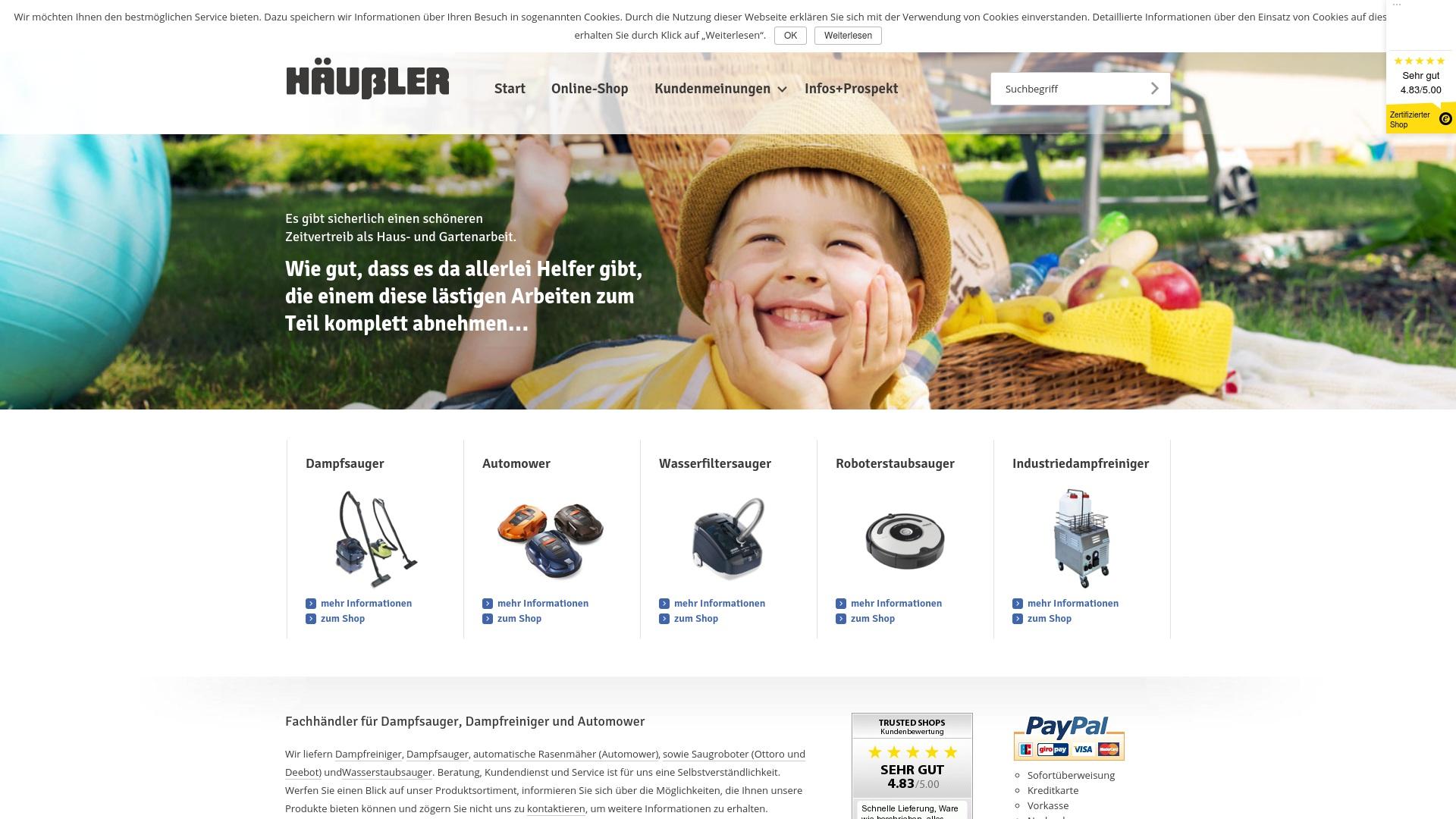Geld zurück bei Karlhaeussler: Jetzt im Oktober 2021 Cashback für Karlhaeussler sichern