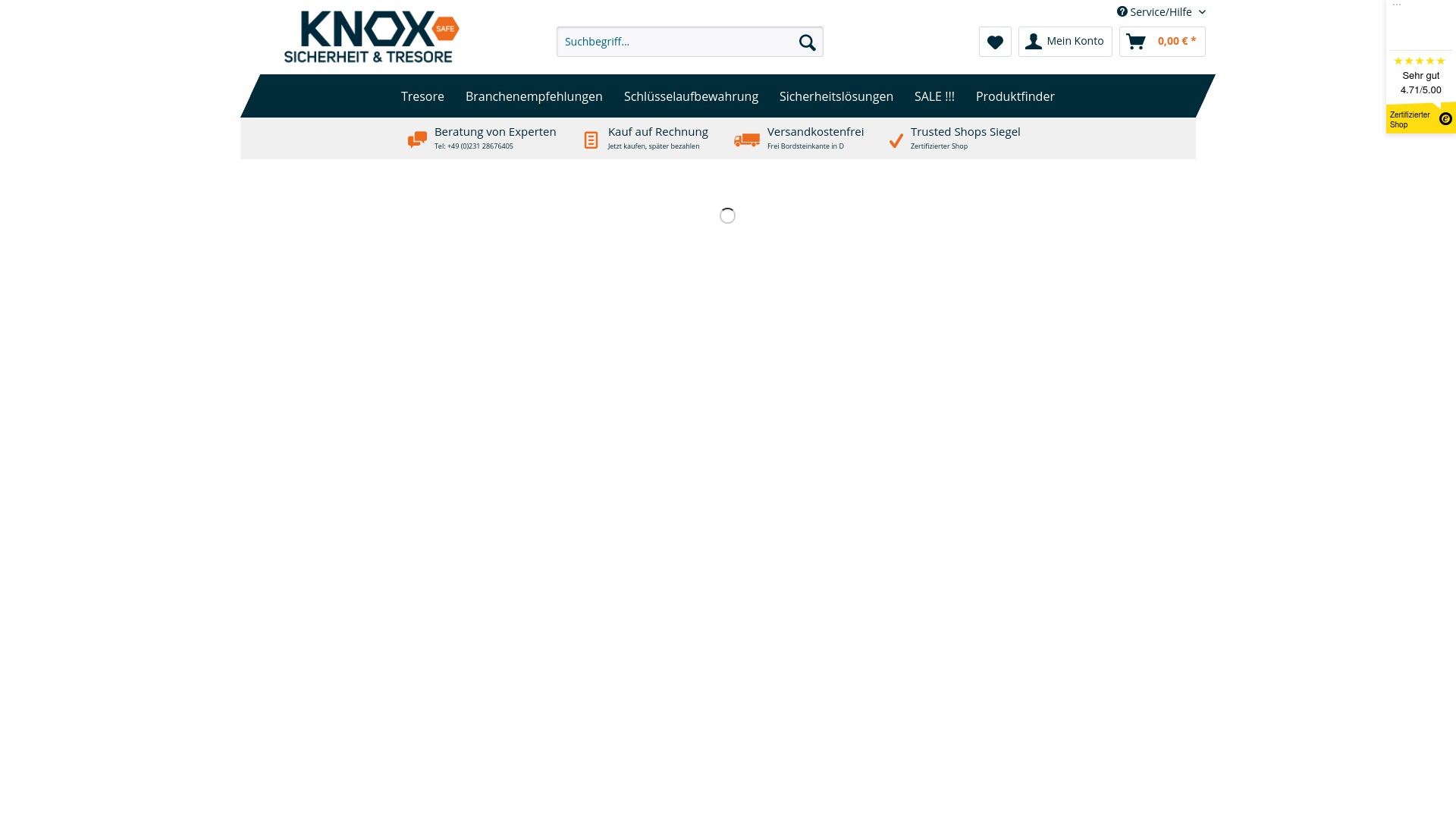 Geld zurück bei Knoxsafe: Jetzt im Oktober 2021 Cashback für Knoxsafe sichern