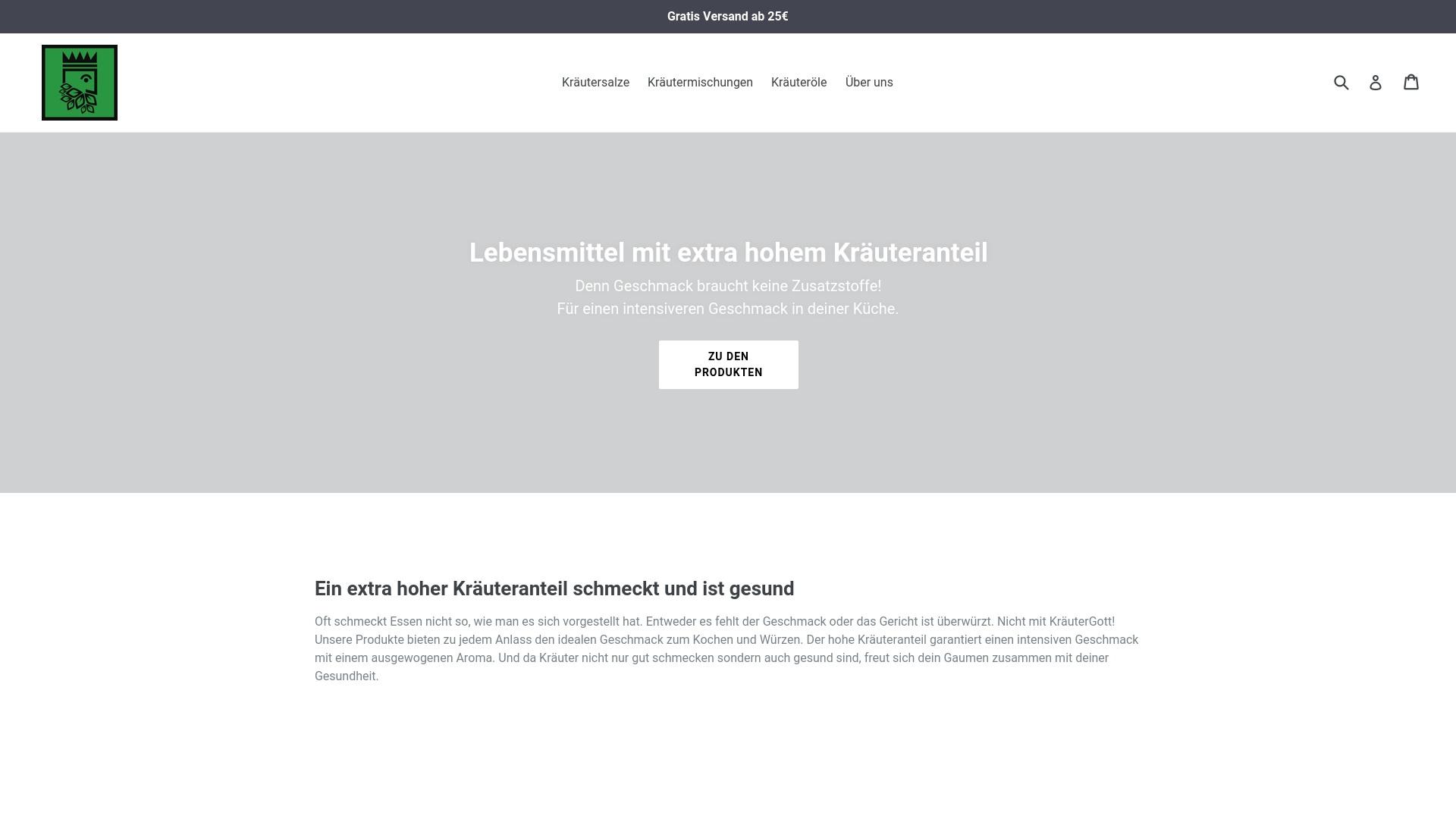 Geld zurück bei Kraeutergott: Jetzt im Oktober 2021 Cashback für Kraeutergott sichern
