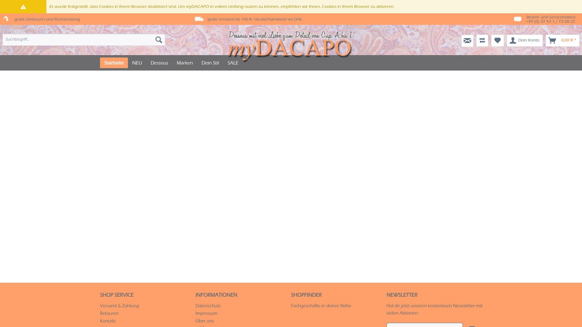Geld zurück bei Mydacapo: Jetzt im Juli 2021 Cashback für Mydacapo sichern