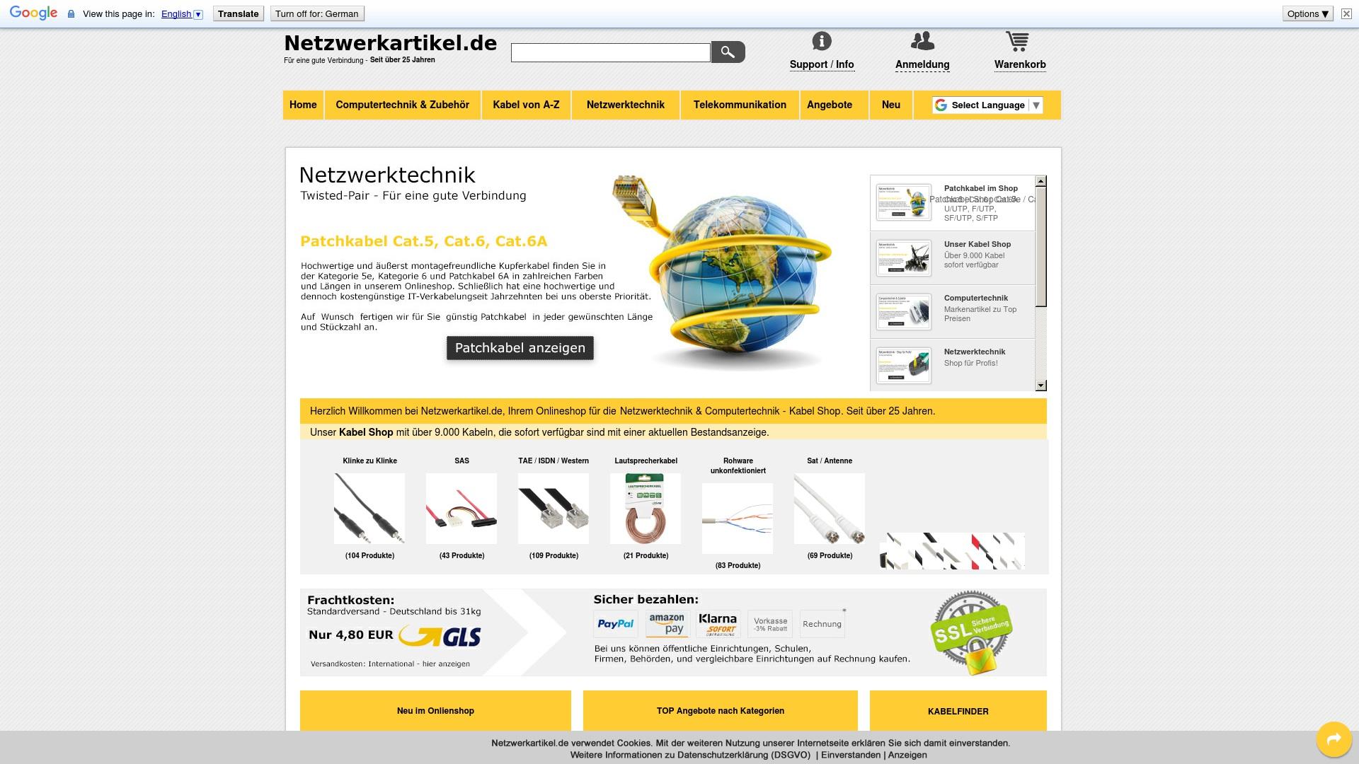 Geld zurück bei Netzwerkartikel: Jetzt im September 2021 Cashback für Netzwerkartikel sichern