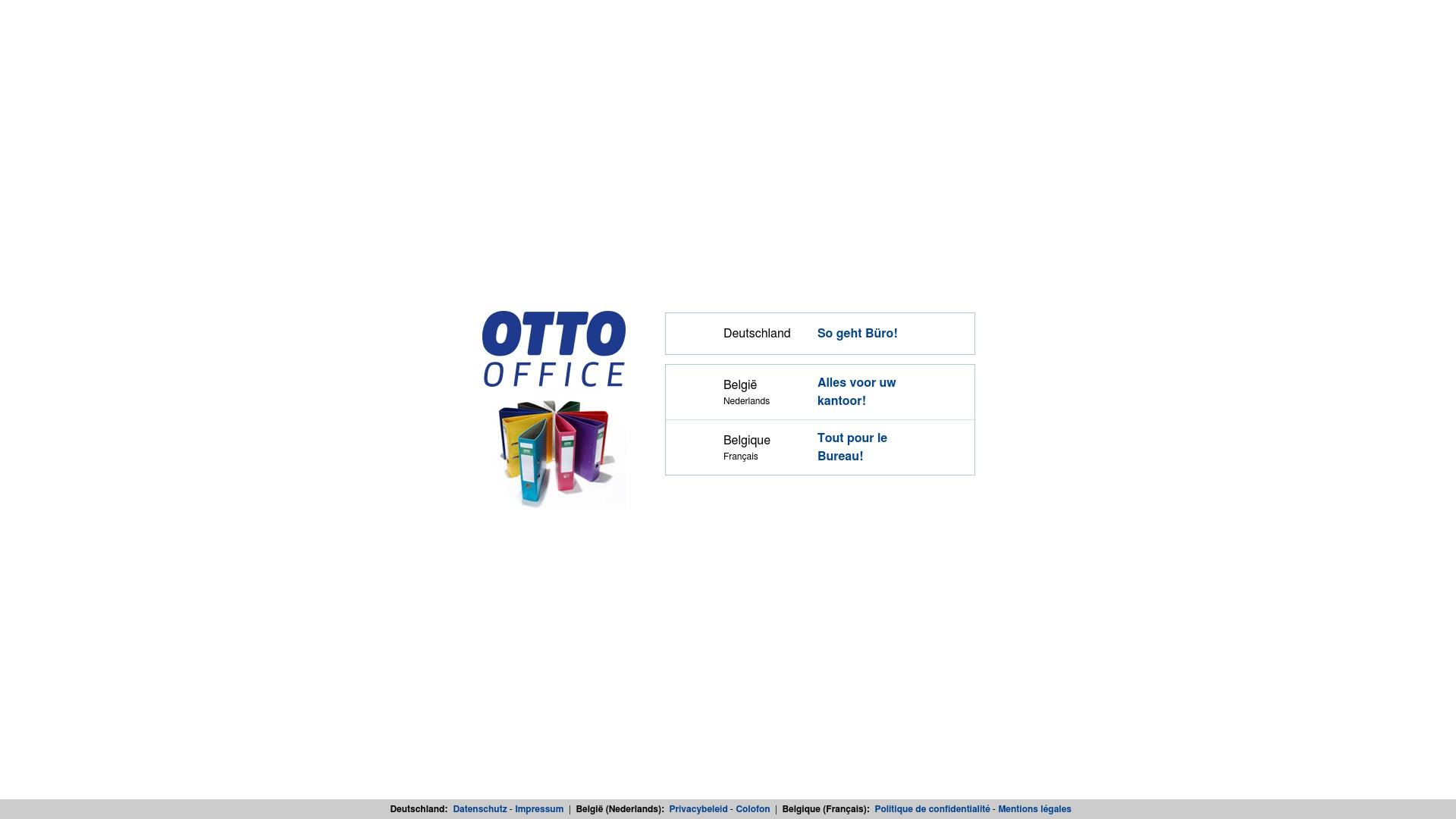Geld zurück bei Otto-office: Jetzt im Oktober 2021 Cashback für Otto-office sichern