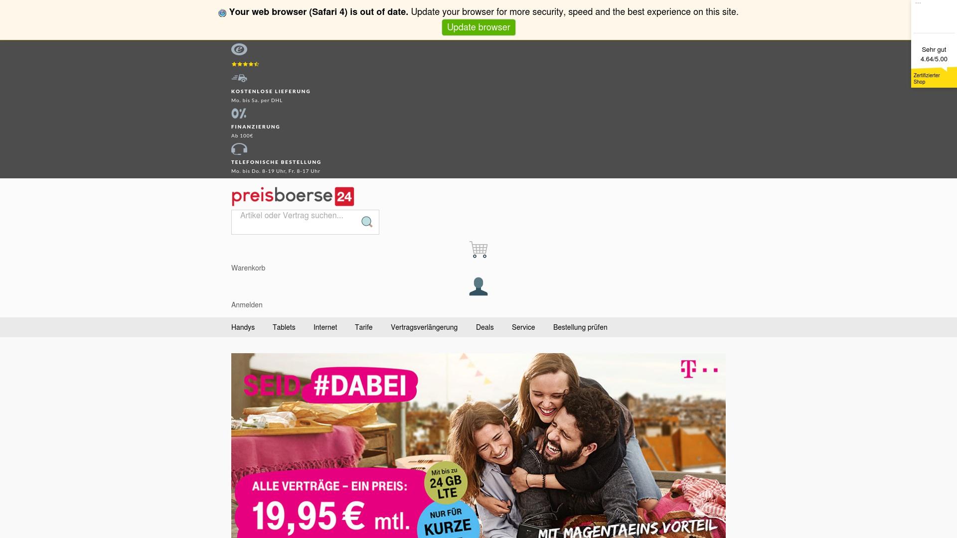 Geld zurück bei Preisboerse24: Jetzt im Juli 2021 Cashback für Preisboerse24 sichern