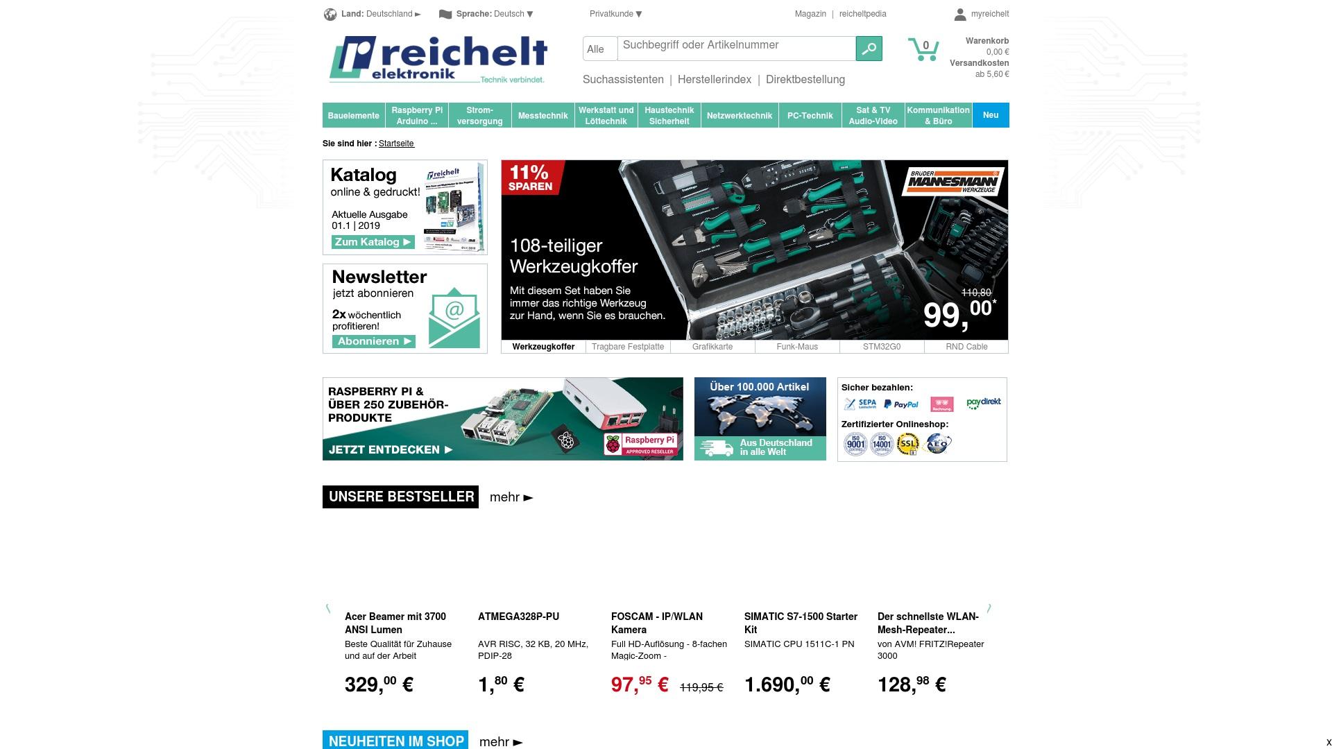 Geld zurück bei Reichelt: Jetzt im September 2021 Cashback für Reichelt sichern