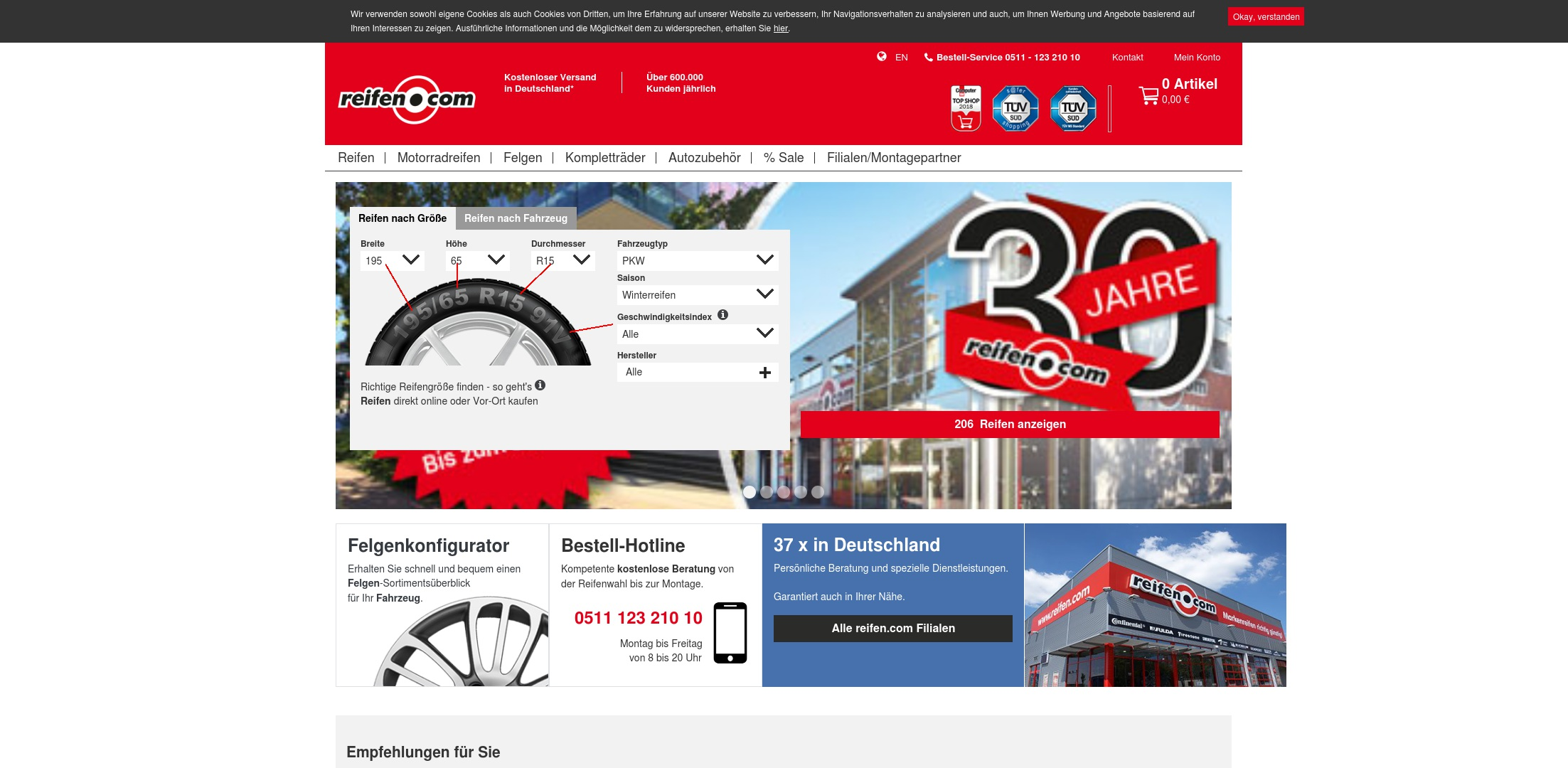 Geld zurück bei Reifen: Jetzt im April 2021 Cashback für Reifen sichern