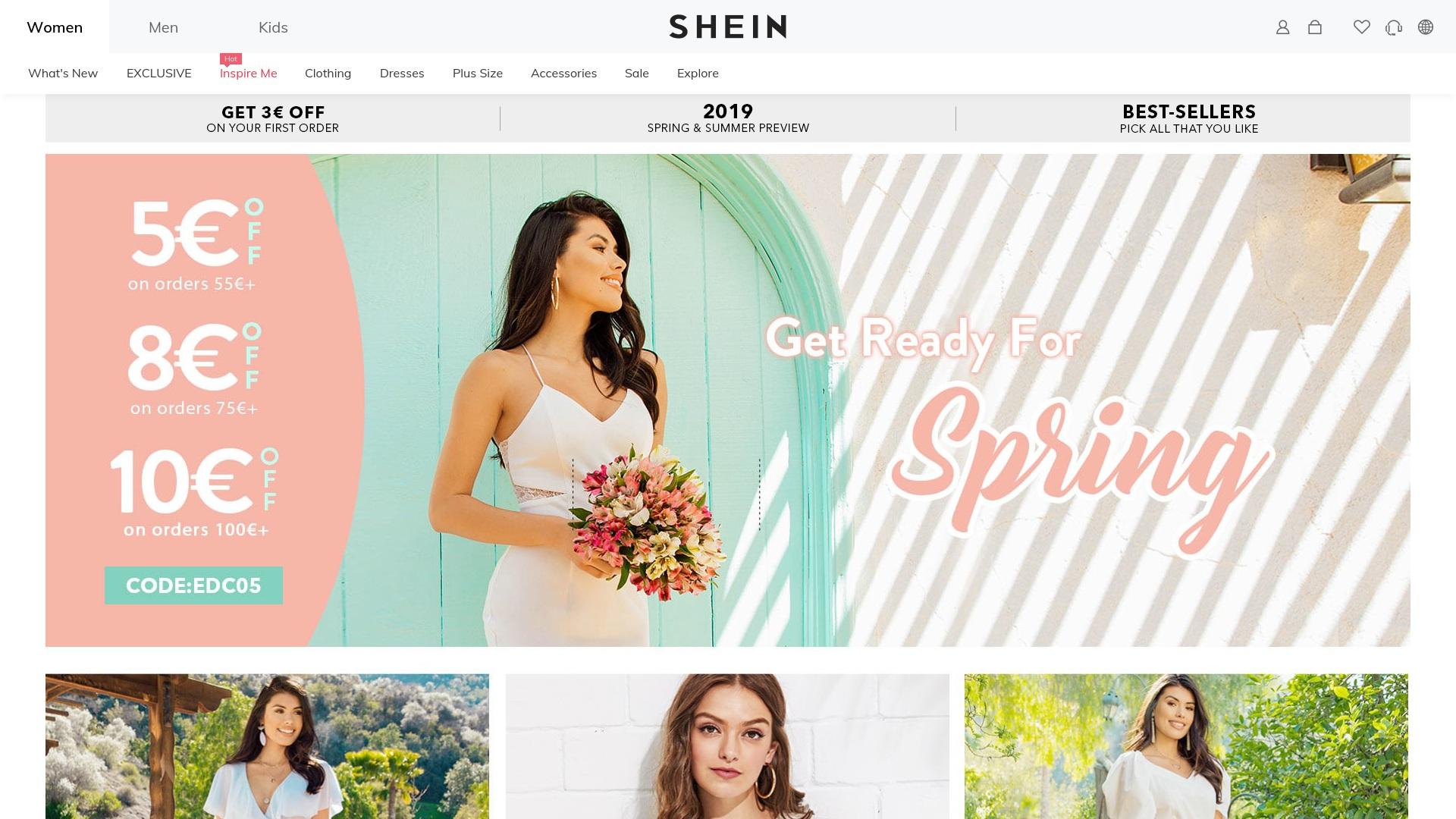 Geld zurück bei Shein: Jetzt im Mai 2021 Cashback für Shein sichern