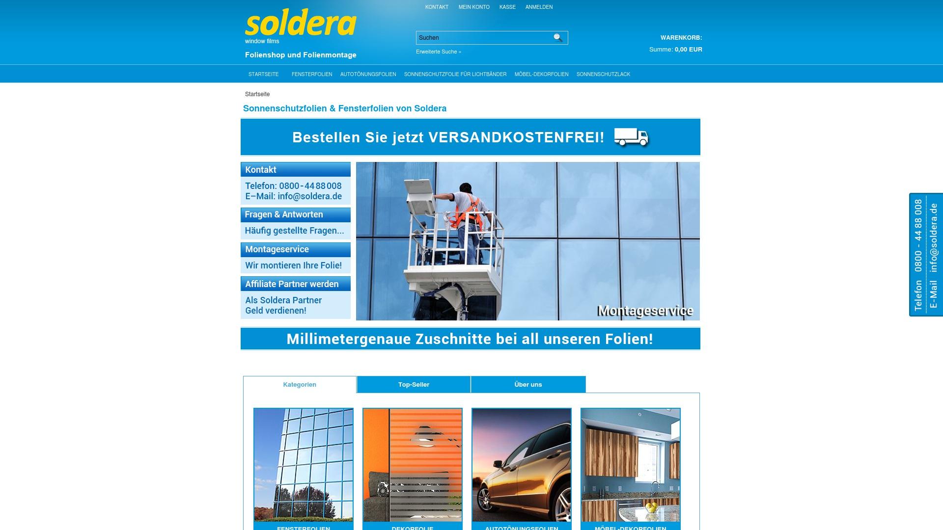 Geld zurück bei Soldera: Jetzt im Mai 2021 Cashback für Soldera sichern