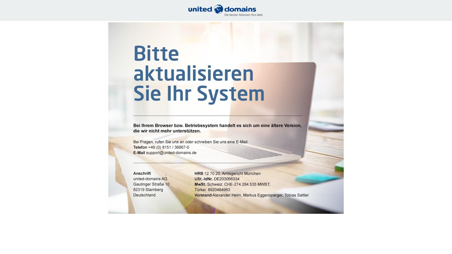 Geld zurück bei United-domains: Jetzt im April 2021 Cashback für United-domains sichern