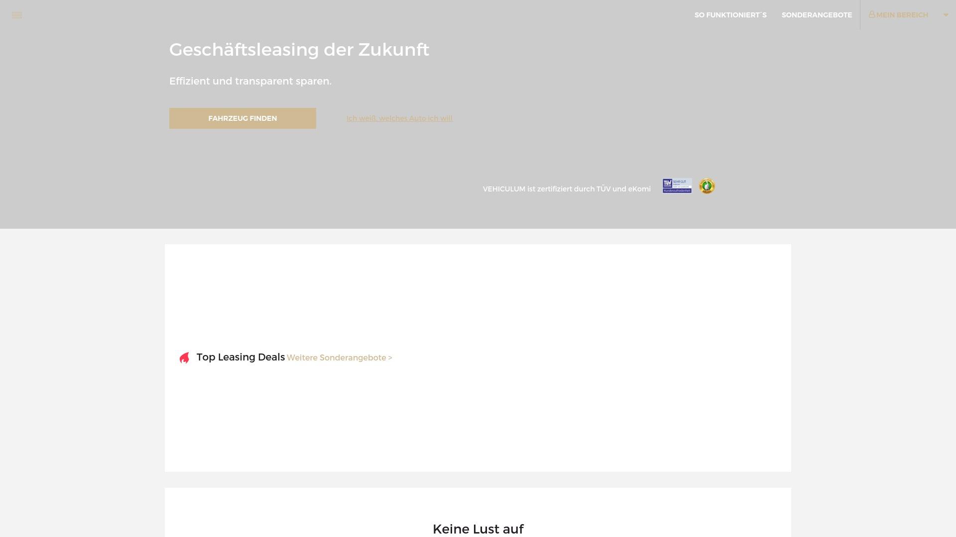 Geld zurück bei Vehiculum: Jetzt im Juli 2021 Cashback für Vehiculum sichern