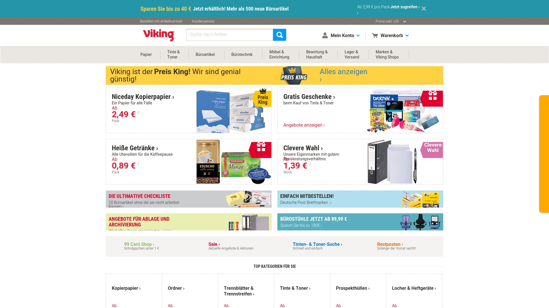 Geld zurück bei Viking: Jetzt im September 2021 Cashback für Viking sichern
