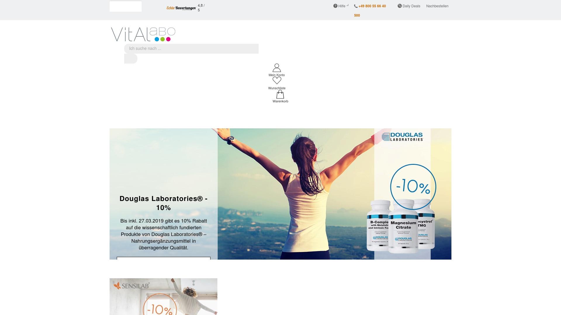 Geld zurück bei Vitalabo: Jetzt im September 2021 Cashback für Vitalabo sichern