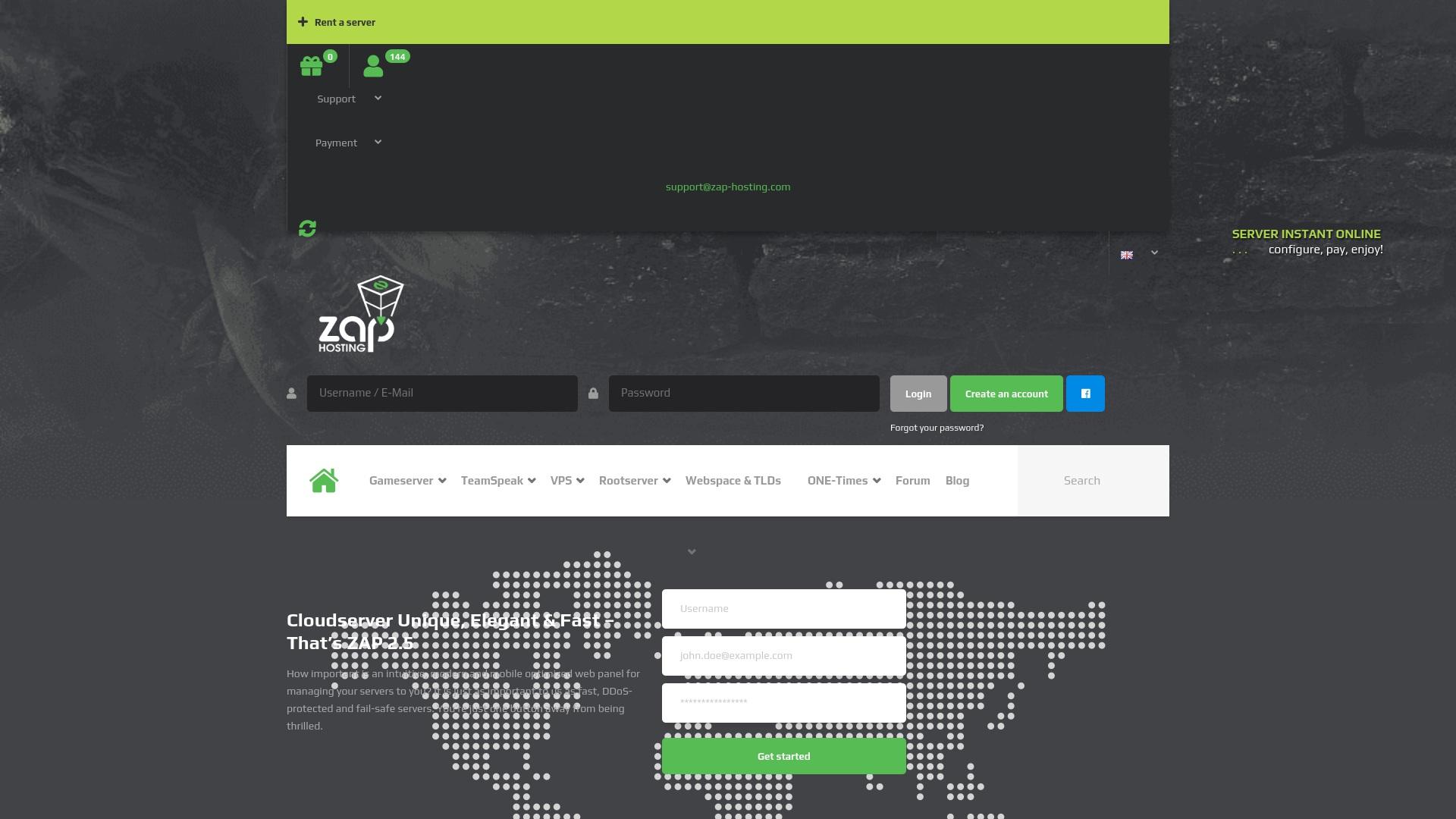 Geld zurück bei Zap-hosting: Jetzt im Oktober 2021 Cashback für Zap-hosting sichern