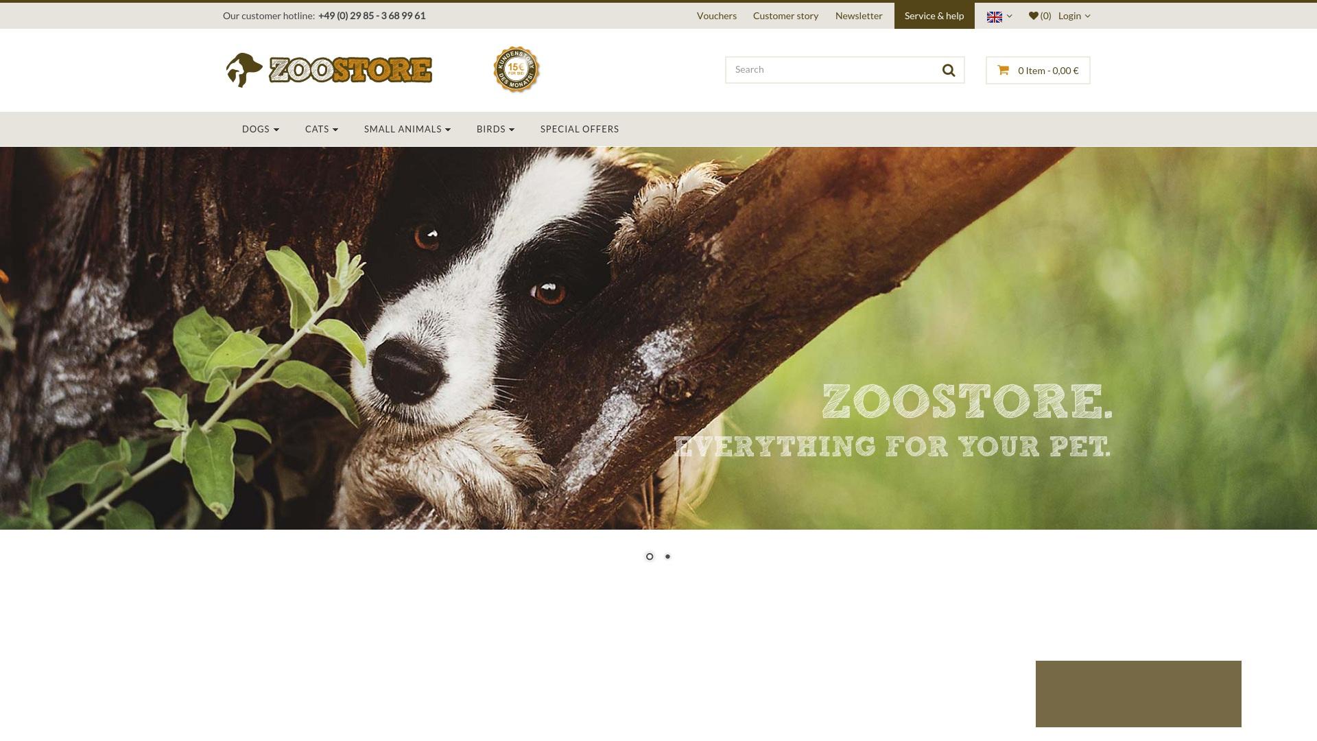 Geld zurück bei Zoostore: Jetzt im Oktober 2021 Cashback für Zoostore sichern